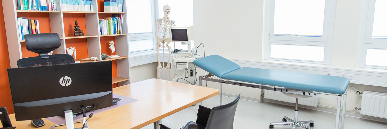 Orthopädie Stuttgart-Bad Cannstatt - Schulz - Behandlungszimmer der Praxis